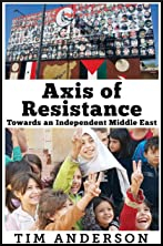 Front Cover of Axis of Resistance by Tim Anderson